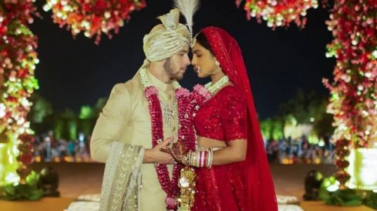 Priyanka Chopra played a role in designing hubby Nick's sherwani, reveals Sabyasachi. Watch video
