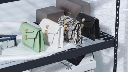 Alexander Wang reinterprets the iconic Serpenti Forever bag for Bulgari