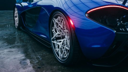 The world's first 3D-printed titanium wheels unleashes new design possibilities