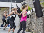 A fitness boot camp on the party isle of Ibiza