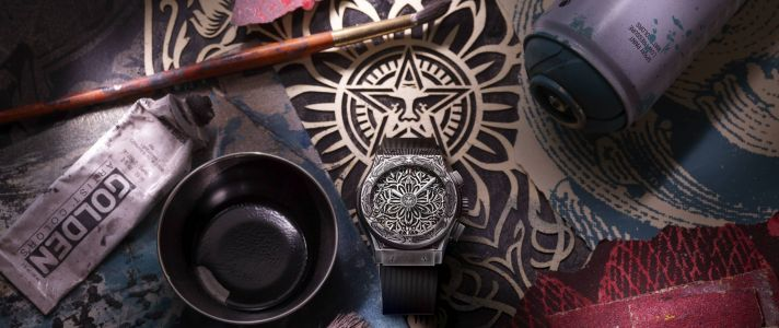 Hublot and Shepard Fairey Launch Second Luxury Timepiece Collab