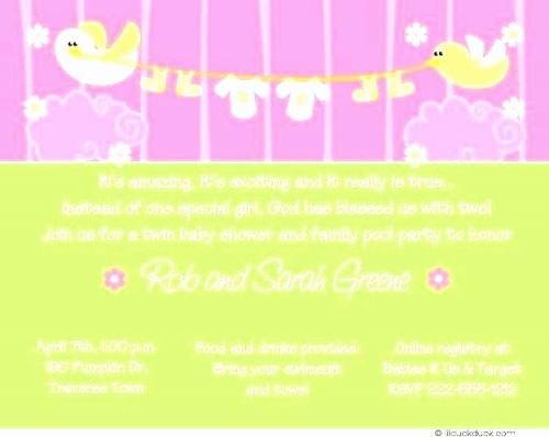 30 Luxury Baby Shower Invitation Free Template Pictures