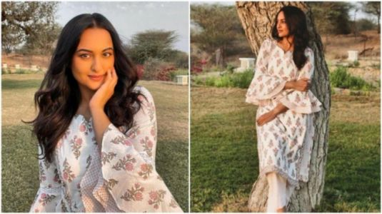 Sonakshi Sinha in Rs 3k kurta and pants keeps her ethnic style on point. See pics
