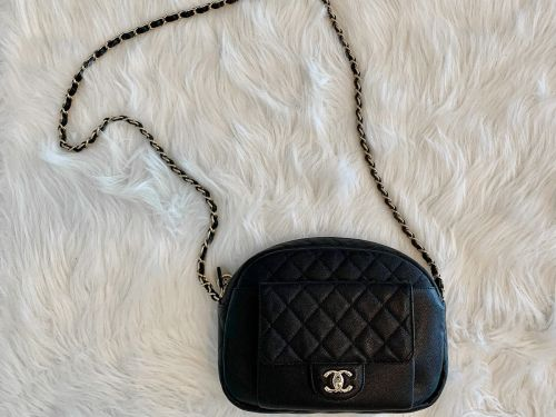 Purseonals: The Chanel Caviar Quilted Camera Case