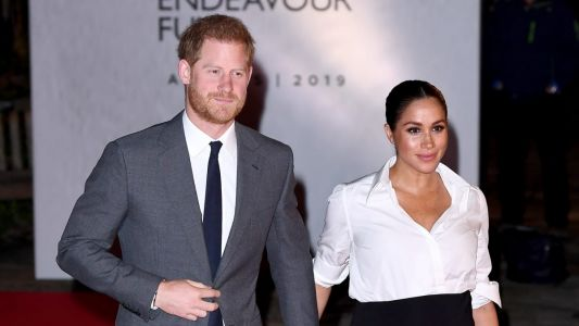 Meghan Markle Wore a Thing: Givenchy Maternity Pencil Skirt Edition