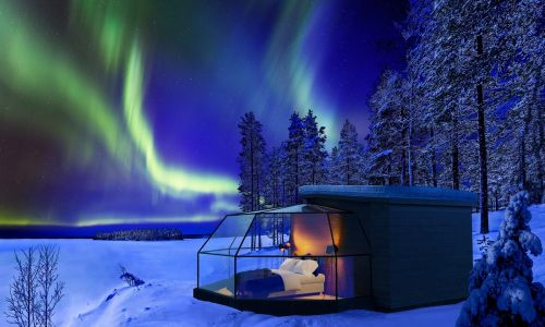 Dream sleep: Arctic Fox Igloos, Finnish Lapland