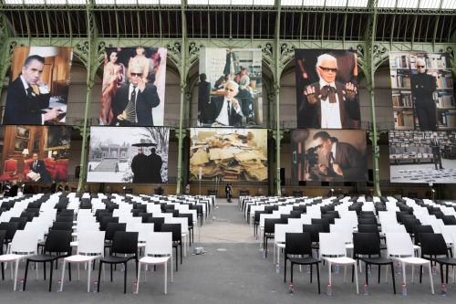 Chanel and Fendi Pay Tribute to Karl Lagerfeld With a Joint Memorial Event in Paris