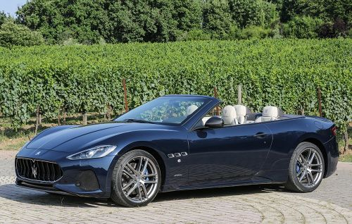 The 2018 Maserati GranTurismo Sport Is a Beautiful Italian Dream