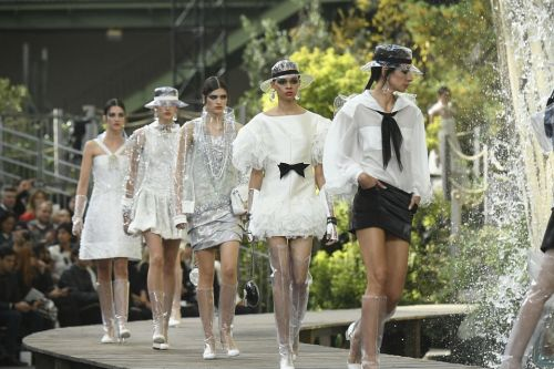 Chanel is uninspired this season. Chanel groupies will buy it anyway