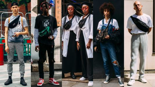 Fanny Packs Were a Street Style Favorite at London Fashion Week Men's