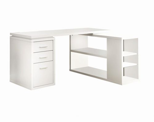 29 Inspirational Modern White Desk with Drawers Graphics