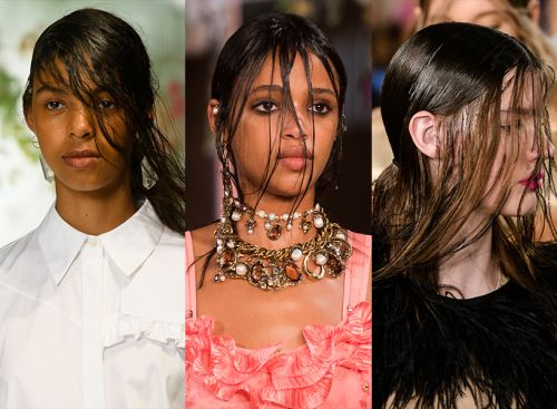 The 10 Biggest Beauty Trends From The SS18 Runways-like Square-Tipped Nails?!