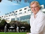 Coronation Street actor William Roache checks into the revamped Thurlestone Hotel in the South Hams
