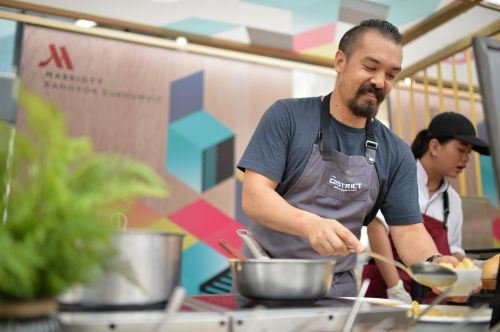 MLive Market: a feast of upscale dishes in a street food market setting