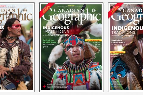 How we chose the cover: July/August 2018 Canadian Geographic