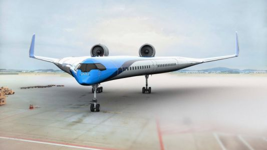The KLM Flying-V aircraft will revolutionise air travel for the coming years