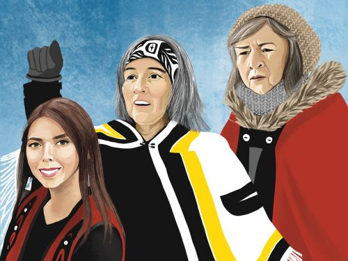 Why The Wet'suwet'en Matriarchs Are Chatelaine Women Of The Year