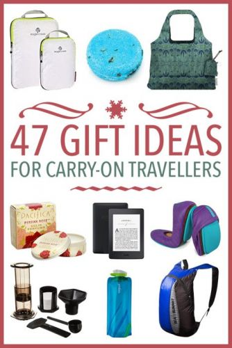 47 Useful Gift Ideas for Carry-On Travellers
