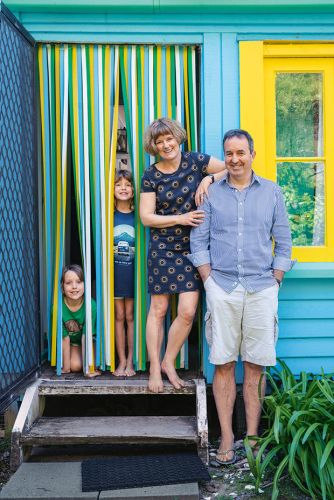 A bach-y makeover: A family transforms its West Coast bach into a bright ode to the past