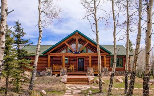 Inside a $175,000 build-your-own ski lodge