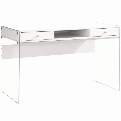 30 Elegant White Writing Desk with Drawers Images