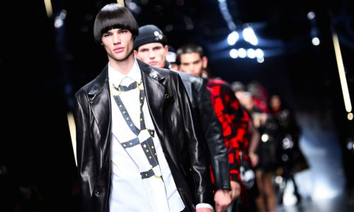 Bags, Buckles and BDSM: Our favorite looks from Versace Men's FW19 show
