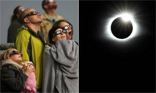 From headaches to nail art, 6 things that happened during the total solar eclipse