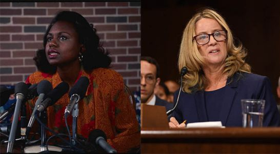 How Christine Blasey Ford And Anita Hill Walked The Impossible Knife's Edge