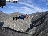 The amazing new bungy experience where users are CATAPULTED to 60mph in 1.5 seconds