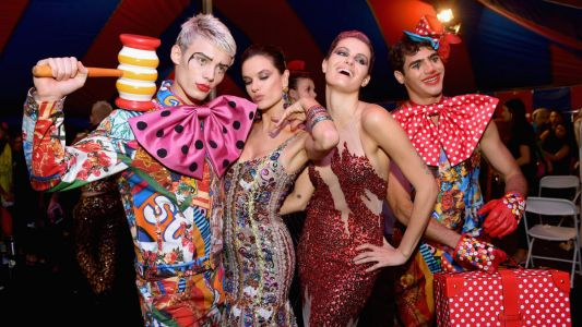 Moschino's Comical Circus Resort Show Was the Distraction We All Needed This Week
