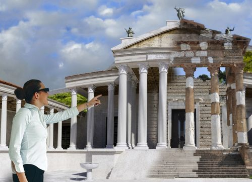 Futuristic Tours for Ancient Pompeii