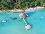 The Caribbean lodge that's being raffled-off for £7.50