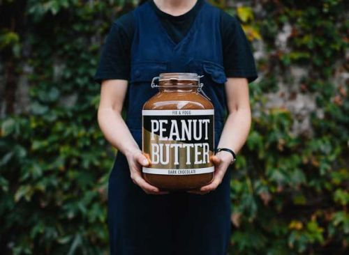 Giant jar of peanut butter auctioned for charity