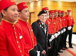 Cunard welcomes back John 'Jack' Jenkins MBE - one of its oldest living former crew members