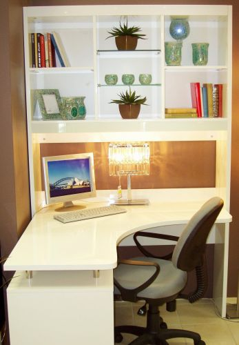 30 Inspirational Office Desk with Shelves Pics