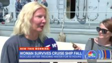 British Woman Fell Off Cruise Ship In Croatia, Treaded Water For 10 Hours To Stay Alive