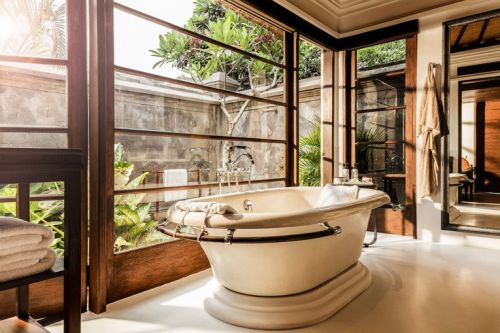 Hotel-style bathroom trends to inspire a luxurious update