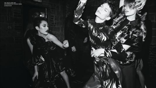 Givenchy's Fall 2018 Ad Campaign Celebrates the Thrill of the Night