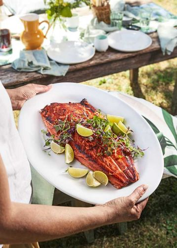 Easy barbecue recipe: Ginger and Soy Salmon