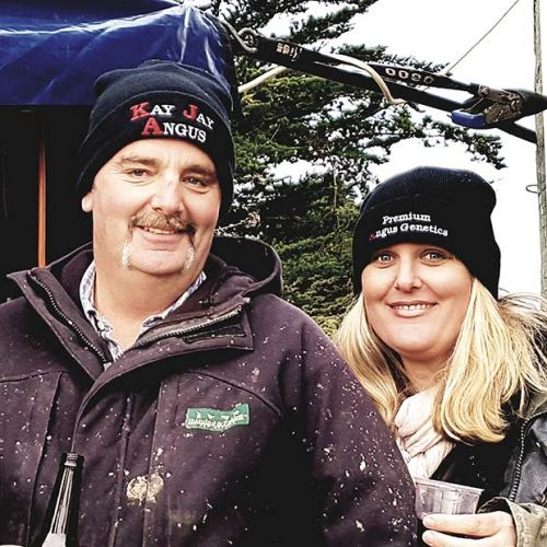 Dion Kilmister and Ali Scott find success with Homegrown Farm Fresh Meats and charollais-romney-texel cross lambs