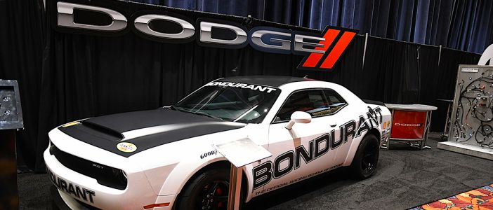 DODGE MUSCLES IN ON THE 2017 PRI SHOW