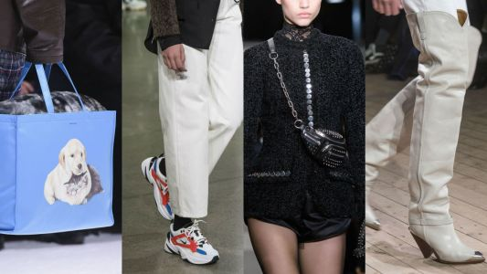 Our Favorite Bags and Shoes From the Fall 2018 Runways