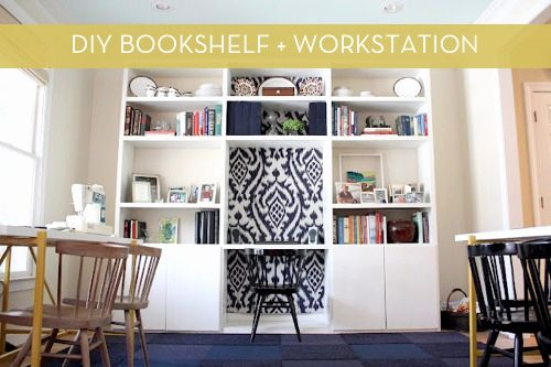 20 Beautiful Bookshelf with Desk Built In Pictures
