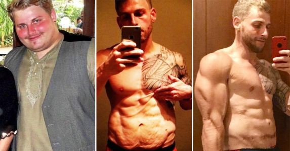 How This Man Got Sober, Lost 190 Pounds, and Turned His Life Around