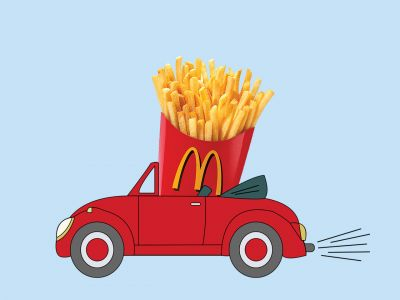 Fry-yay or nay? McDonald's delivery is now a thing. We put it to the test