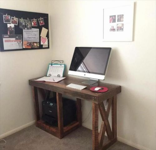 30 Inspirational Computer Desk Ideas for Small Spaces Pics