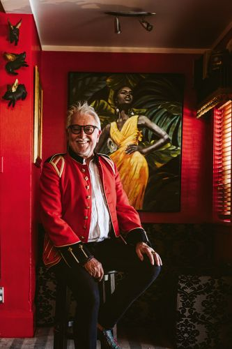 Taranaki's host with the most: Nice Hotel owner Terry Parkes transforms an historic home into a maximalist masterpiece