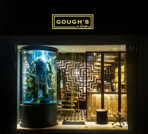 Inside the revamped Gough's on Gough, with a new chef and modern British menus