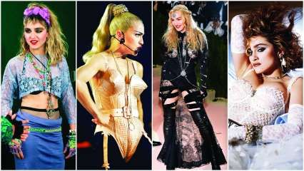 Style File: On Madonna's 60th birthday, here's a look at her influence on fashion over the decades