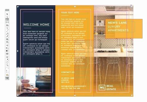 30 Awesome 5 Panel Brochure Template Graphics